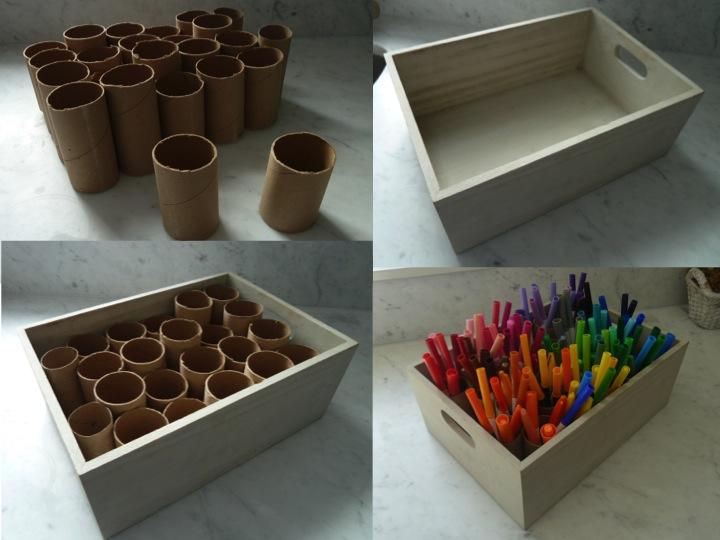 Marker organizer bottle branch for Markers for wood crafts