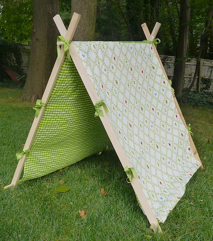 finished.tent4 & DIY reversible play tent u2013 Bottle Branch