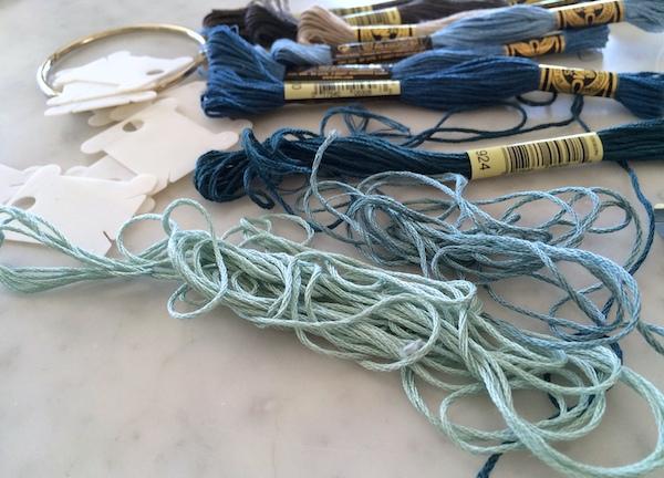 sorting floss