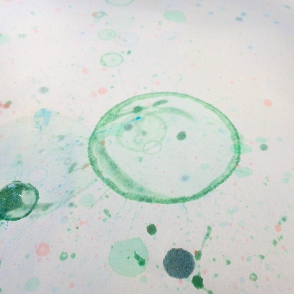 bubble painting 2