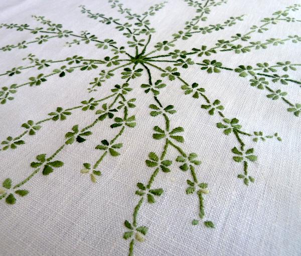 galium embroidery