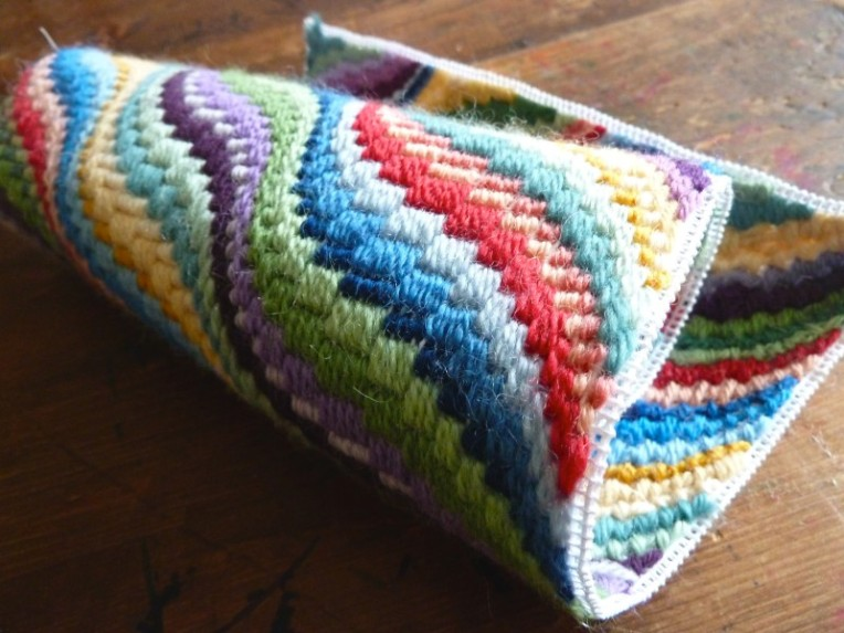 multi color bargello