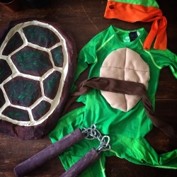 DIY Teenage Mutant Ninja Turtle