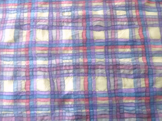 painted plaid in purples