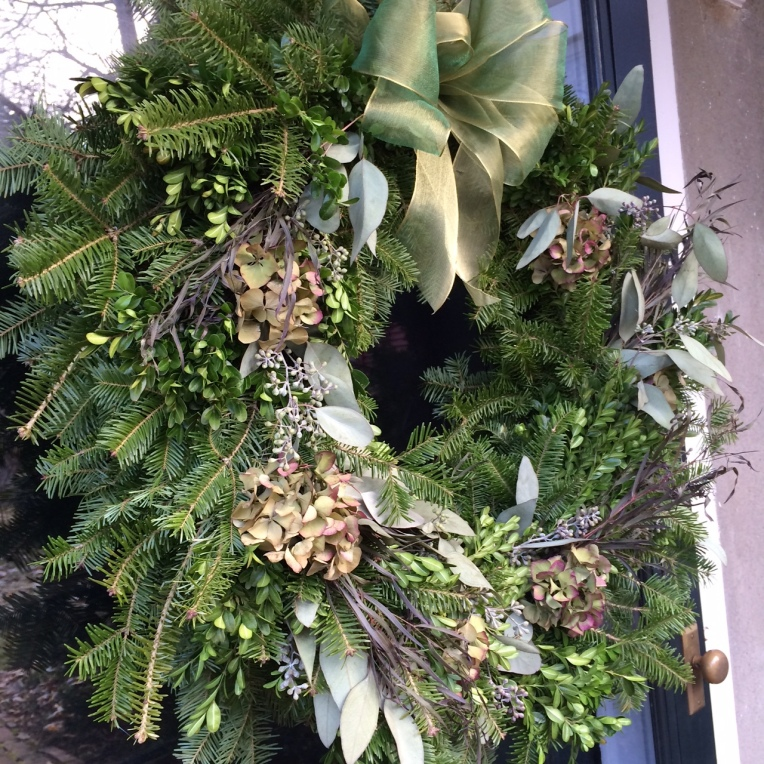 less traditional wreath 2014