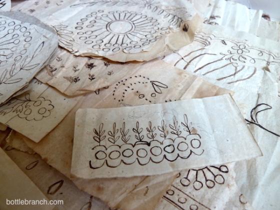 whitework patterns 1800s
