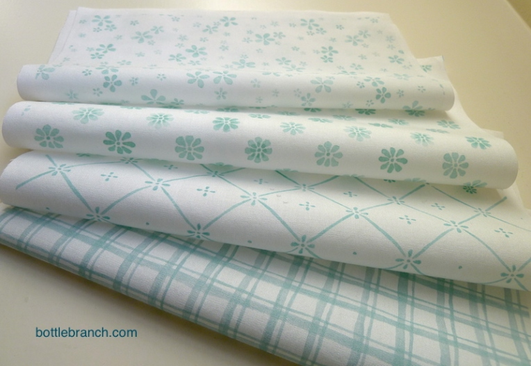pinwheel flower fabric samples 1