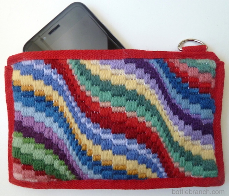 bargello iphone case completed