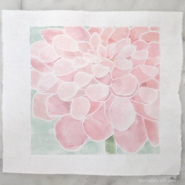 dahlia white line print by ephpyle