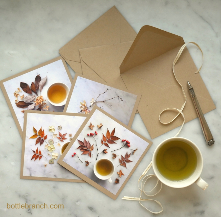 happy tea card set from bottle branch blog