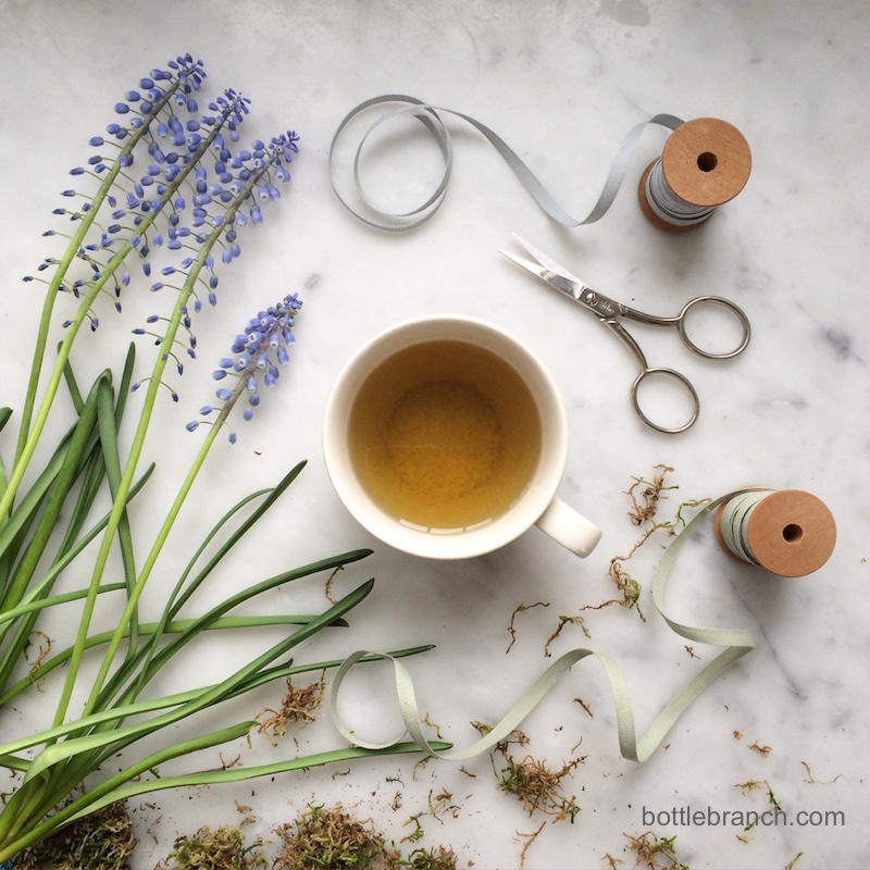 happy tea time in March from bottle branch blog