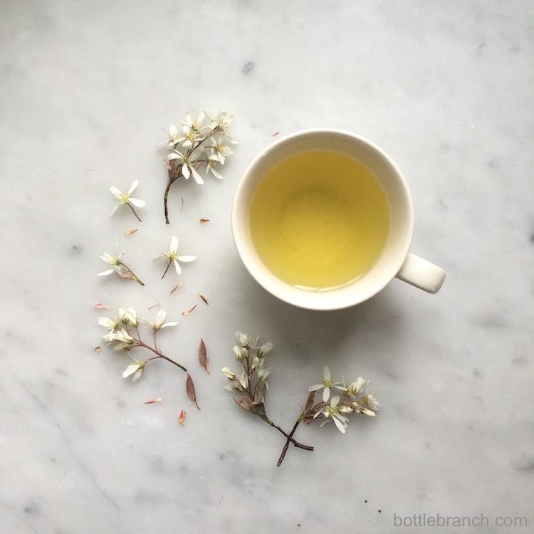 pretty tea time bottle branch blog