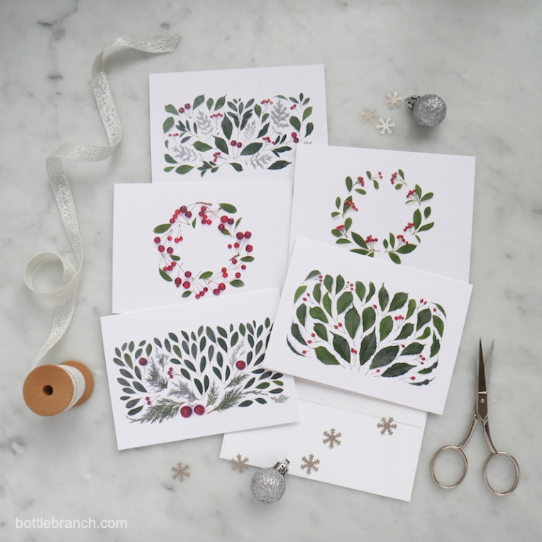 set-of-botanical-holiday-cards-from-bottle-branch