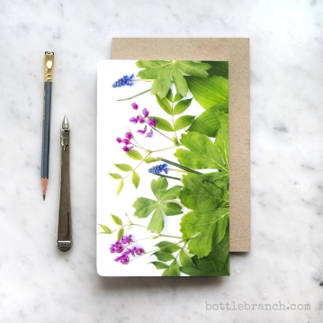 botanical notebook by Bottle Branch