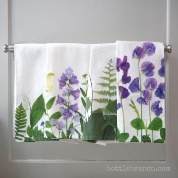 tea towels by bottle branch