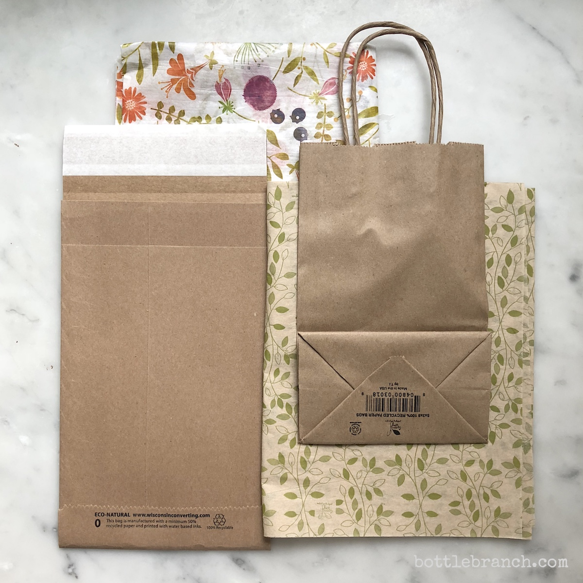 recycled paper packaging