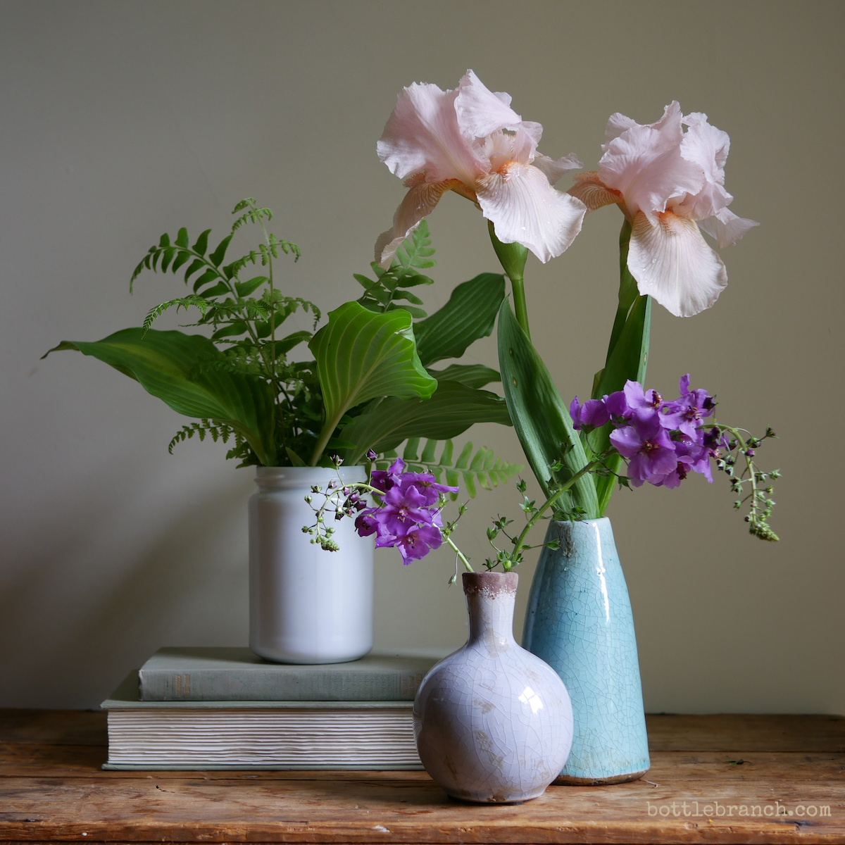 stilll life with irises and verbascum.JPG