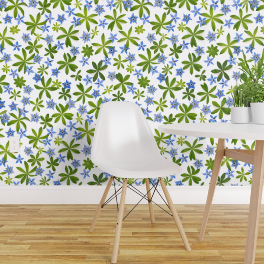 spoonflower wallpaper by BottleBranch